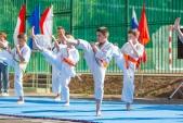 Выступления Федерации Уракен Карате на открытии НОВОЙ спортивной площадки Лицея 9  (рис.21)