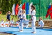 Выступления Федерации Уракен Карате на открытии НОВОЙ спортивной площадки Лицея 9  (рис.3)