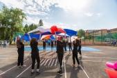 Выступления Федерации Уракен Карате на открытии НОВОЙ спортивной площадки Лицея 9  (рис.4)