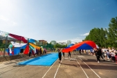 Выступления Федерации Уракен Карате на открытии НОВОЙ спортивной площадки Лицея 9  (рис.6)