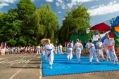 Выступления Федерации Уракен Карате на открытии НОВОЙ спортивной площадки Лицея 9  (рис.8)