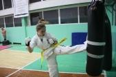 Совместная тренировка с каратистами из клуба Дзаншин в лицее 9 (рис.12)
