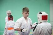 Совместная тренировка с каратистами из клуба Дзаншин в лицее 9 (рис.13)