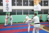 Совместная тренировка с каратистами из клуба Дзаншин в лицее 9 (рис.14)
