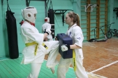 Совместная тренировка с каратистами из клуба Дзаншин в лицее 9 (рис.15)