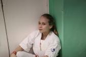 Совместная тренировка с каратистами из клуба Дзаншин в лицее 9 (рис.16)