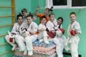 Совместная тренировка с каратистами из клуба Дзаншин в лицее 9 (рис.17)