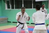 Совместная тренировка с каратистами из клуба Дзаншин в лицее 9 (рис.19)