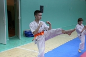 Совместная тренировка с каратистами из клуба Дзаншин в лицее 9 (рис.3)