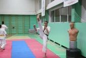 Совместная тренировка с каратистами из клуба Дзаншин в лицее 9 (рис.5)