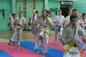 Совместная тренировка с каратистами из клуба Дзаншин в лицее 9 (рис.6)