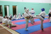 Совместная тренировка с каратистами из клуба Дзаншин в лицее 9 (рис.9)