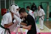 Боевая спарринговая тренировка в Лицее 9 Дзержинского района города Волгограда