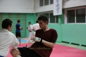 Боевая спарринговая тренировка в Лицее 9 Дзержинского района города Волгограда (рис.12)