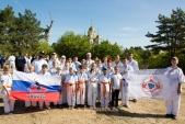 Традиционная тренировка на Мамаевом Кургане по случаю начала нового учебно-тренировочного года  (рис.45)