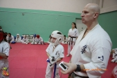Тренировка спортсменов СК УРАКЕН Лицея № 9 с каратистами из Волжского (рис.11)