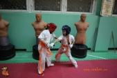 Тренировка спортсменов СК УРАКЕН Лицея № 9 с каратистами из Волжского (рис.13)
