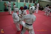 Тренировка спортсменов СК УРАКЕН Лицея № 9 с каратистами из Волжского (рис.17)