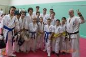 Тренировка спортсменов СК УРАКЕН Лицея № 9 с каратистами из Волжского (рис.2)
