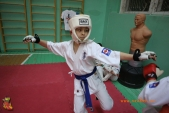 Тренировка спортсменов СК УРАКЕН Лицея № 9 с каратистами из Волжского (рис.21)