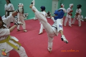 Тренировка спортсменов СК УРАКЕН Лицея № 9 с каратистами из Волжского (рис.22)