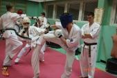 Тренировка спортсменов СК УРАКЕН Лицея № 9 с каратистами из Волжского (рис.31)