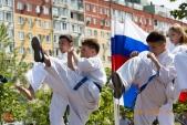 Показательные выступления каратистов Волгоградской Федерации Каратэ (рис.41)