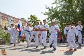 Показательные выступления каратистов Волгоградской Федерации Каратэ (рис.47)