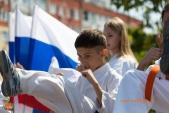 Показательные выступления каратистов Волгоградской Федерации Каратэ (рис.49)